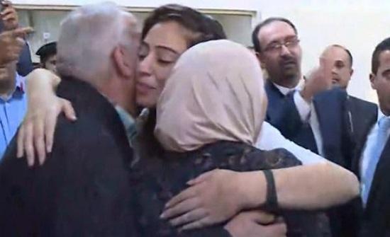 هبة اللبدي و عبد الرحمن مرعي يصلان عمان