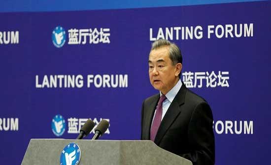وزير الخارجية الصيني: بكين لن تقبل اي تدخل بشؤونها الداخلية