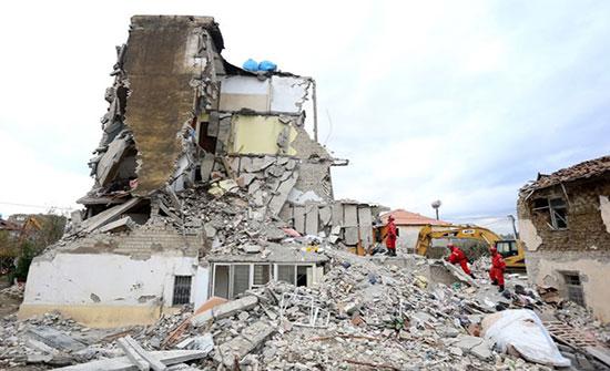 ارتفاع ضحايا زلزال ألبانيا لـ30 قتيلا وتواصل عمليات الإنقاذ