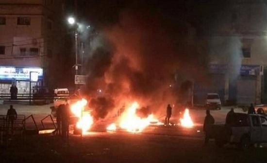 الامن ينهي احتجاجا شهدته منطقة شفا بدران - فيديو