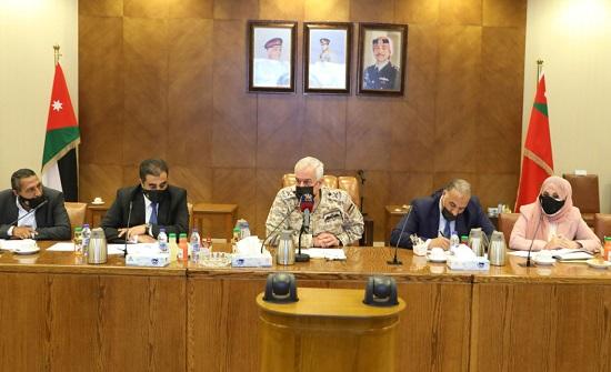 رئيس هيئة الأركان يلتقي أعضاء كتلة الشعب النيابية