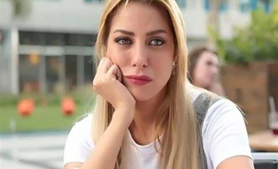 ريم مصطفى ترتدي فستان اسود في مهرجان الجونة