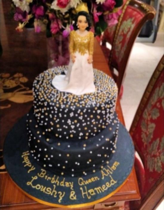 عيد ميلاد سعيد أحلام صور الكيك 14