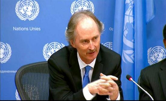 """بيدرسون يدعو لوقف الأعمال """"العدائية"""" شمالي سوريا"""