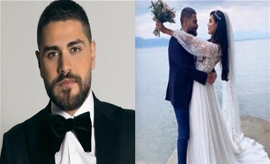 الفنان محمد المجذوب يدخل القفص الذهبي.. تعرفوا على العروس اللبنانية (صور)