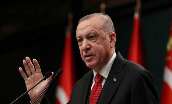 أردوغان: تركيا لن تذعن للتهديد والابتزاز في الدفاع عن حقوقها