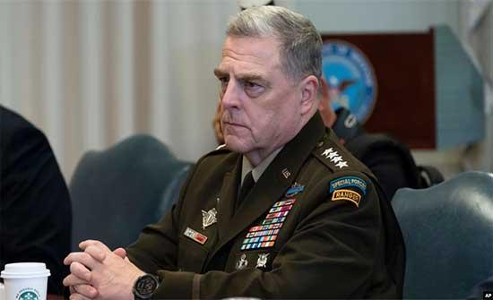 """رئيس هيئة الأركان الأمريكية المشتركة : """"نتائج سيئة محتملة"""" للقوات الأفغانية"""