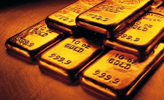 سعر الذهب ينخفض بنسبة 0.60% عالميا
