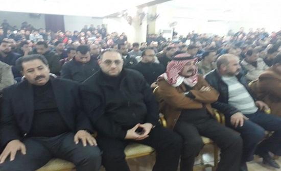 بالصور : اجتماع للسعود والربيحات بعد الاعتداء على عضو مجلس أمانة عمان