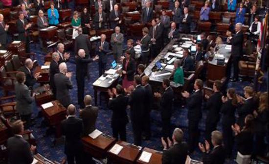 الصين تعارض تمرير مجلس الشيوخ الأمريكي مشروع قانون يتعلق بشينجيانج
