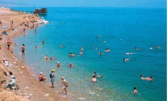 إنقاذ شخصين من الغرق في البحر الميت