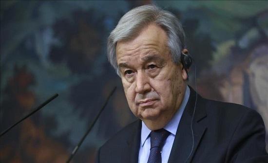 غوتيريش يطالب باحترام وقف إطلاق النار بين الفلسطينيين وإسرائيل