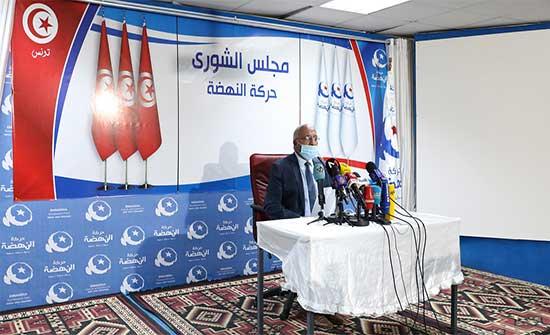 حركة النهضة: تأجيل اجتماع مجلس الشورى التابع لها