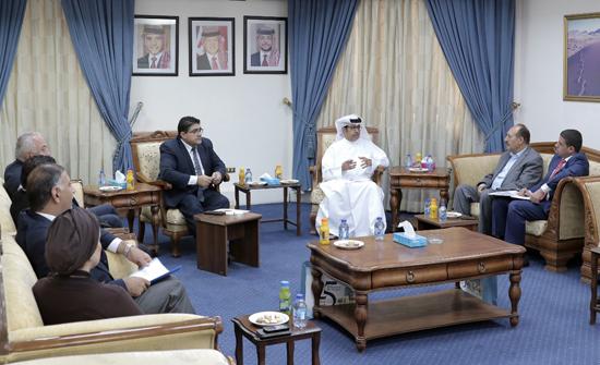 الحريات النيابية تلتقي بنائب مدير مركز الامارات للدراسات والبحوث الاستراتيجية
