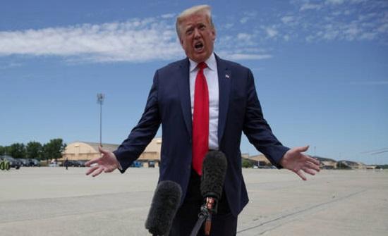 """ترامب يهدد المتظاهرين باستخدام """"القوة العسكرية غير المحدودة"""""""