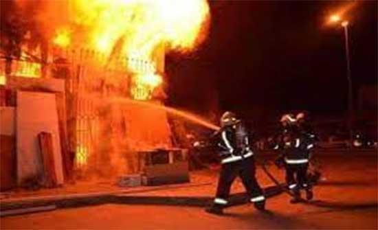 وفاة و 3 اصابات في حريق بالزرقاء