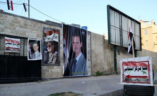انطلاق عملية التصويت في الانتخابات الرئاسية في سوريا