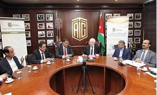 اتفاقية تعاون بين صحيفة الرأي وأبو غزالة