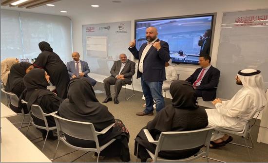 """ريادة أعمال """"الشرق الأوسط"""" تشارك في جلسات """"دبي المستقبل"""" حول الابتكار الحكومي"""