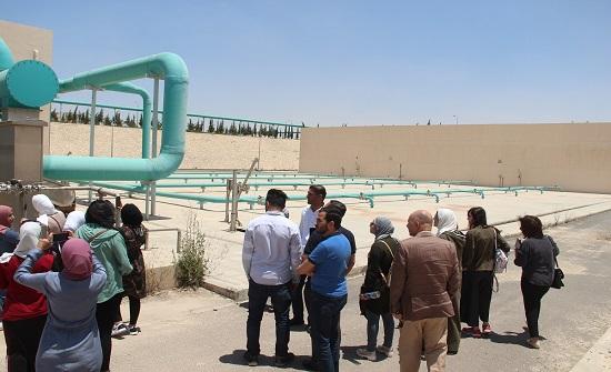 """""""المهندسين"""" تزور محطة جنوب عمان"""