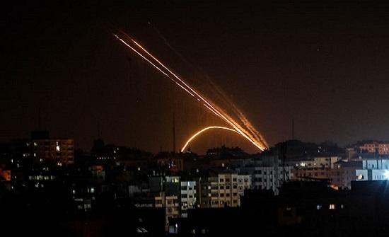 المقاومة تتصدى لطائرات إسرائيلية حلقت في أجواء غزة (شاهد)
