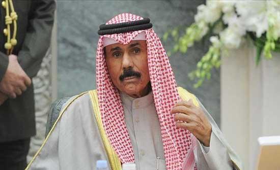 أمير الكويت يستنكر ويدين تصعيد الاحتلال الاسرائيلي ضد المصلين بالأقصى