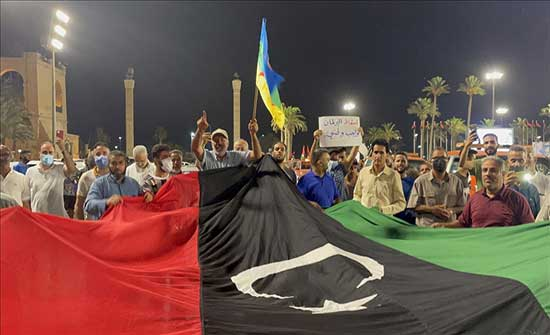 ليبيا.. مئات المتظاهرين يطالبون بإسقاط مجلس النواب