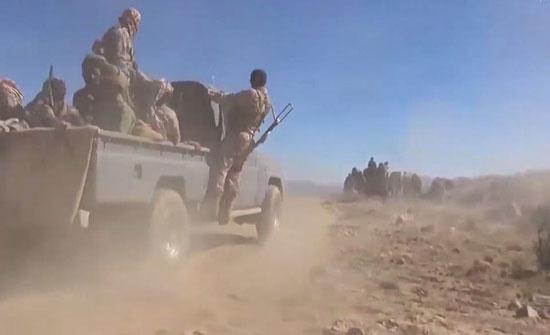 بالفيديو : الجيش اليمني يكسر هجوماً حوثياً شرق صنعاء