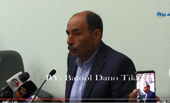 وزير الأشغال يتفقد جسور البحر الميت وطريق ماعين مادبا
