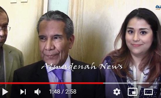 بالفيديو : المدينة نيوز تلتقي السفير المكسيكي والعائلة التي تعرضت لاعتداء في جرش .. شاهد