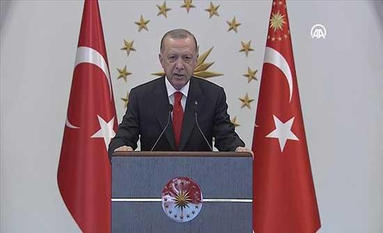 أردوغان: سنواصل دعم صناعاتنا الدفاعية للتحرر من التبعية للخارج
