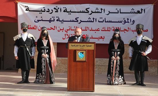 المجلس العشائري الشركسي يحتفل بمناسبة عيد الجلوس الملكي