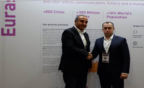 أمين عمان يشارك في قمة المنظمة العالمية للمدن المتحدة والادارات المحلية في جنوب افريقيا