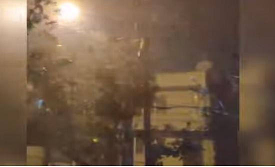 تركيا : إصابات بإعصار ضرب ازمير - فيديو