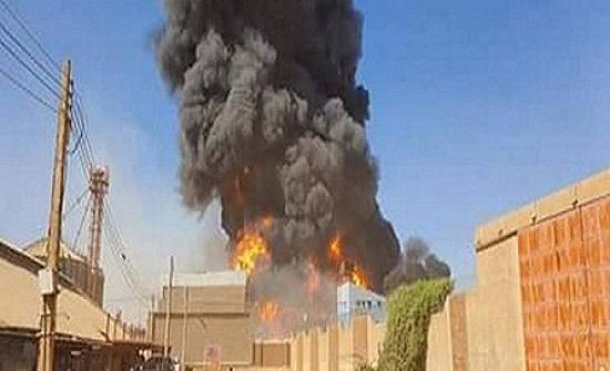 مقتل 23 شخصًا جراء حريق بمصنع للسيراميك في السودان (فيديو)