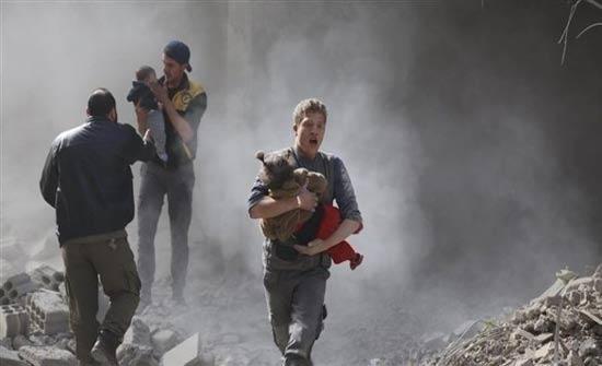 المرصد: مقتل 150 مدنياً خلال 72 ساعة في الغوطة الشرقية