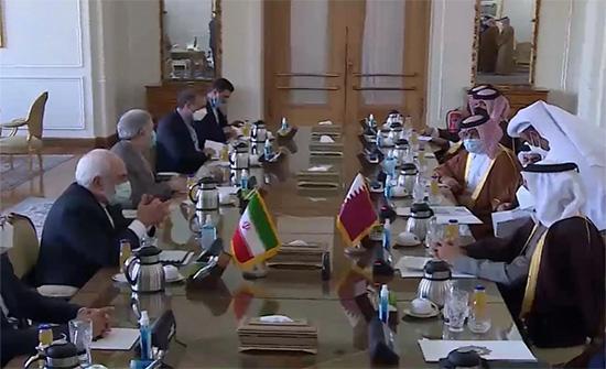 خلال مباحثات في طهران.. وزير خارجية قطر يجدد استعداد بلاده للعب دور مؤثر في التعاون الإقليمي