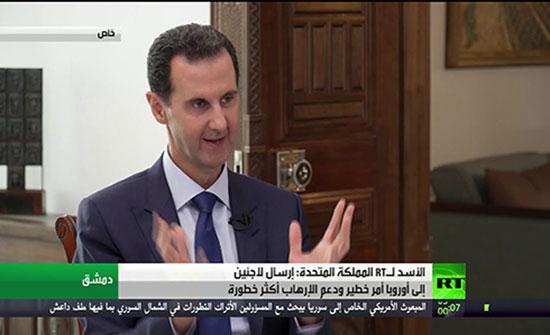 بالفيديو .. الأسد : أوروبا تحتاج أردوغان وتكرهه في آن