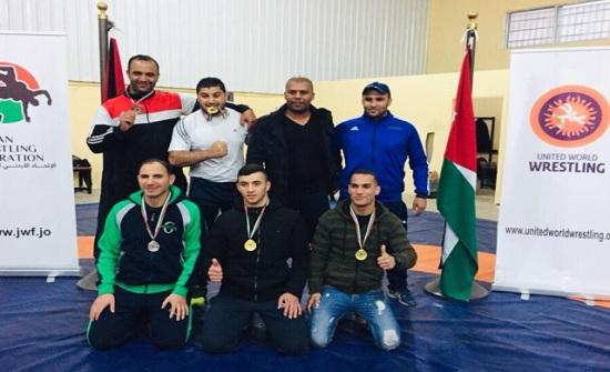 الدفاع المدني يحصد ميدالية ذهبية وفضيتين في بطولة المملكة للمصارعة الرومانية والحرة