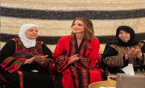 الملكة :  بين أهلي وأخواتي من بلقاوية عمان