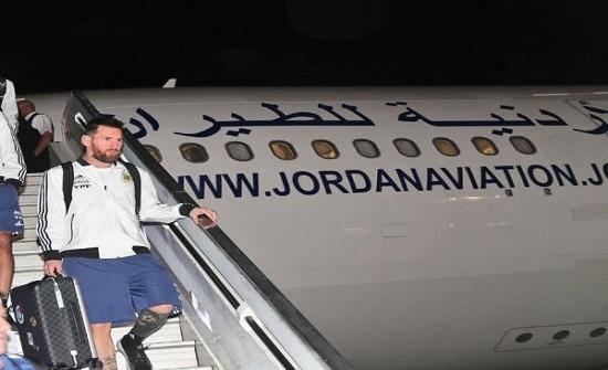 بالصور : ميسي في الأردن لأول مرة