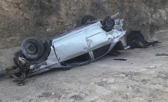 وفاة ستيني بحادث تدهور في الكرك