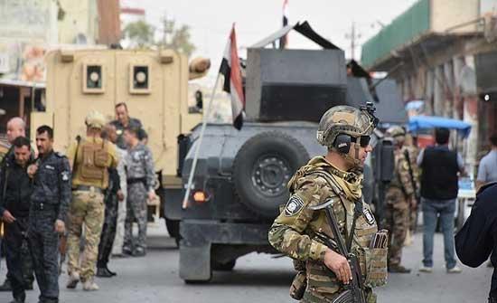 الجيش العراقي يسحب دبابات وعربات عسكرية من شوارع بغداد