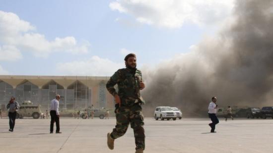 فريق أممي: ميليشيا الحوثي نفذت الهجوم الدامي على مطار عدن