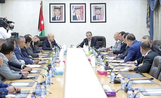 الدغمي: الأردن يشكل العمق الاستراتيجي للعراق - صور