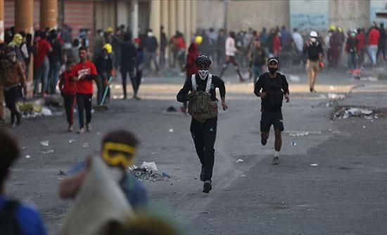 مصدر طبي: 6 قتلى و75 مصابا بين المتظاهرين في بغداد