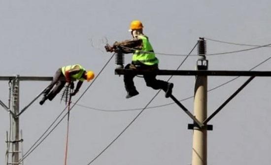 وفاة موظف بشركة كهرباء إربد سقط من فوق عامود
