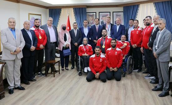 مجلس النواب يكرم أبطال الأردن في دورة الألعاب البارالمبية والأولمبية- صور