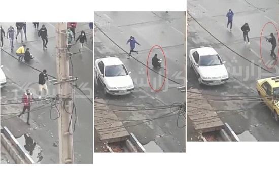 """وزير داخلية ايران : العنف ضد المتظاهرين مشروع  لكي لا نصبح مثل سوريا  """" سوريا """""""