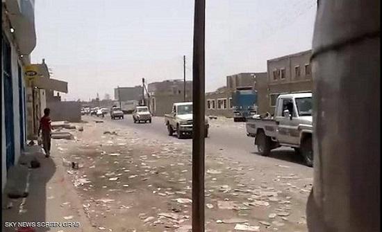قوات الحزام الأمني تدخل زنجبار.. وفرار جماعي لقوات الإصلاح